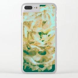 Desert Rose Vintage Clear iPhone Case