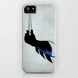 Bat chopsticks iPhone Case