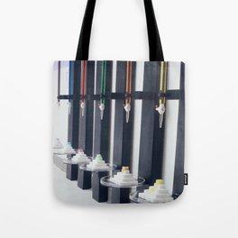 Relativity Clocks Tote Bag