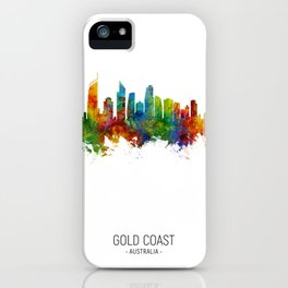 Gold Coast Australia Skyline iPhone Case