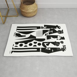NYC Party People Rug
