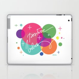 Positive Vibes Laptop & iPad Skin