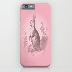 Bunny Rabbit {soft pink} Slim Case iPhone 6s
