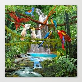 Enchanted Jungle Canvas Print