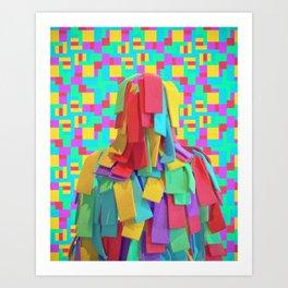 ABSENCE 04 Art Print