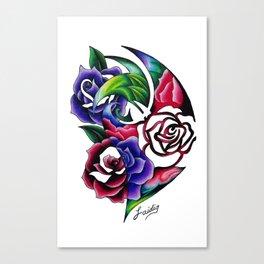 Roses Roses Roses Canvas Print