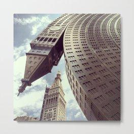 New York Clock Tower Metal Print