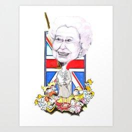 Rule Britannia Art Print