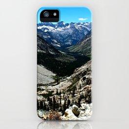 Sierra Nevada Mountain Landscape iPhone Case
