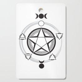 Elemental Pentagram Cutting Board