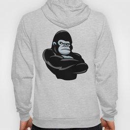 angry  gorilla.black gorilla Hoody