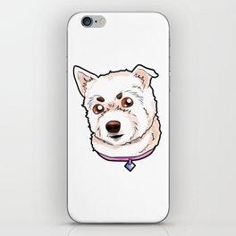 West Highland White Terrier Westie Dog Doggie Pup iPhone Skin