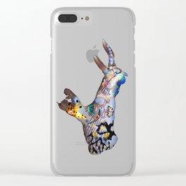 Nudi God Clear iPhone Case