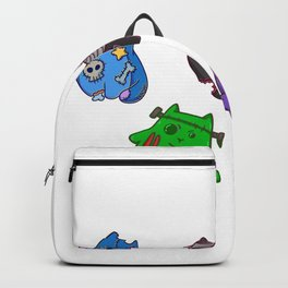 Cat Zombie girl friends Backpack