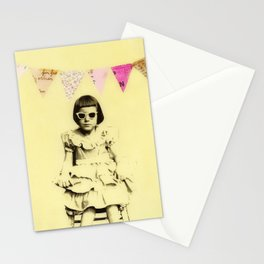 """Partially Amused"" Stationery Cards"