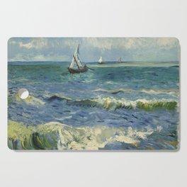 Seascape near Les Saintes-Maries-de-la-Mer Cutting Board