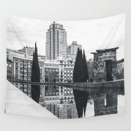 Temple of Debod Wall Tapestry