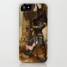 Lord of The Underworld iPhone Case