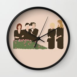 Steel Magnolias Wall Clock