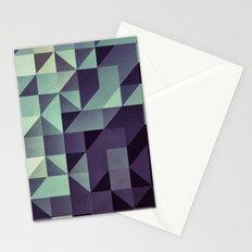 :: geometric maze :: Stationery Cards