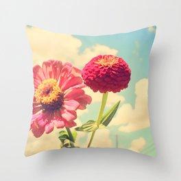 Lovely flower Throw Pillow