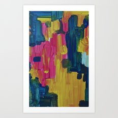 The moment Art Print