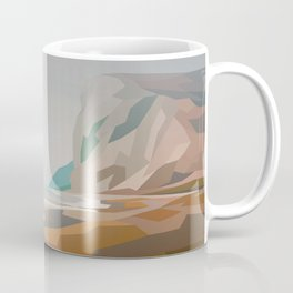 Cliffs - misty Coffee Mug