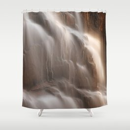 Hadlock Flicker Falls Shower Curtain