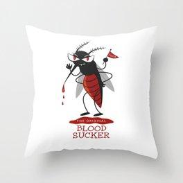 The Original Vampire Throw Pillow