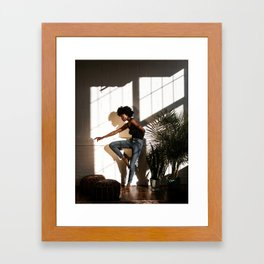 FIGURE // XIII Framed Art Print