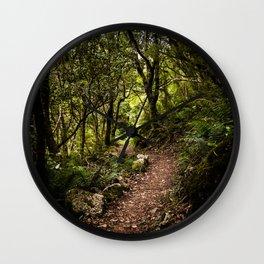 Wilderness Path Wall Clock