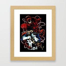 Dare to Punish! 02 (Crab Metalitees x CoDDesigns) Framed Art Print