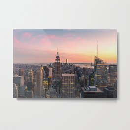 NEW YORK CITY 17 Metal Print