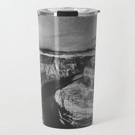 Southwest Starry Night Black and White Travel Mug
