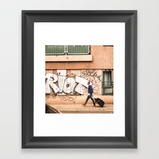 #TAGGING STREETART LIFE BERLIN, GERMANY by Jay Hops Framed Art Print