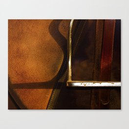 Stirrup // Horse Tack Canvas Print