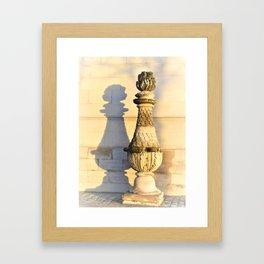 Shadow Play @ Les Invalides Framed Art Print