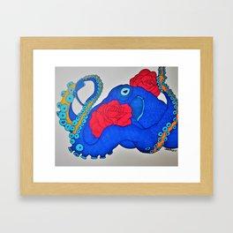 Octoflora Framed Art Print