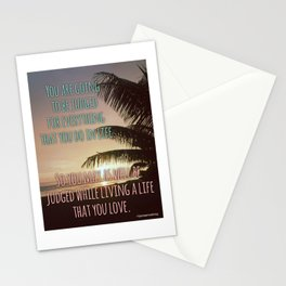 Thoughts on judgement..... Stationery Cards