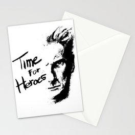 Time for Heroes Stationery Cards