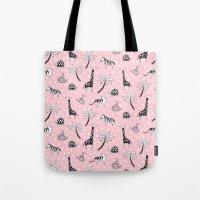 safari Tote Bags featuring Safari by Sian Keegan