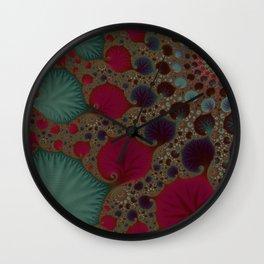 Seasonal Classic - Fractal Art  Wall Clock