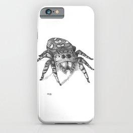 Inktober 2016: Jumping Spider iPhone Case