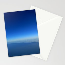 Minimal blue Stationery Cards