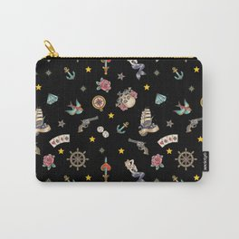 Sailor Tattoos, Sailor, Tattoo, Anchors Carry-All Pouch