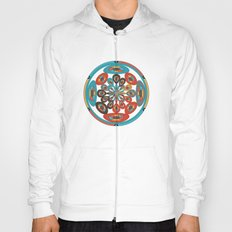 Round geometric design Hoody