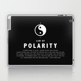 Law of Polarity Laptop & iPad Skin