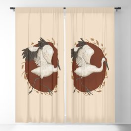 Whooping Crane Blackout Curtain