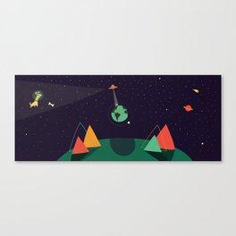 El susto del mundo Canvas Print