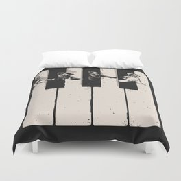 Music is the Way Duvet Cover